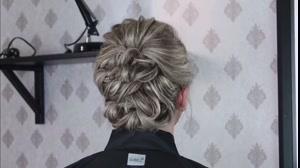 فیلم آموزش شینیون متفاوت  مو کوتاه  در چند دقیقه