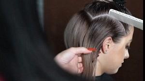 فیلم کوتاه کردن مو زنانه مدل کلوش