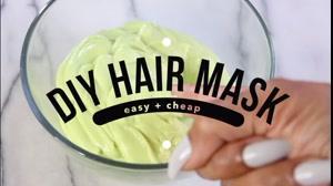 فیلم آموزش ساخت ماسک مخصوص مو خشک+ فر کردن مو مجعد