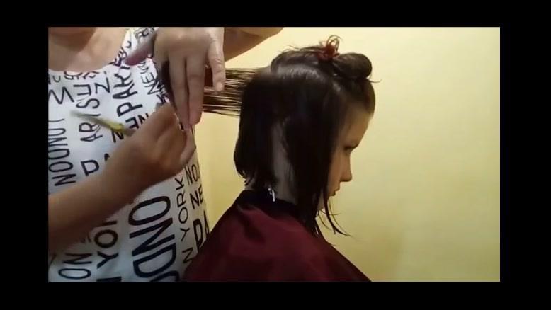 فیلم  آموزشی کوتاه کردن مو دخترانه + سالن آرامیس مد