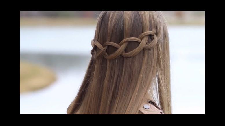 فیلم آموزش بافت مو دخترانه مدل زنجیره ای