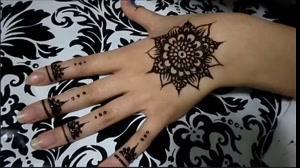 کلیپ آموزشی تاتو روی دست  طرح خورشید