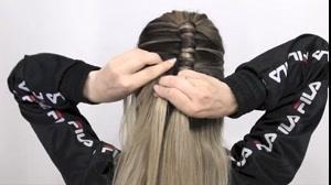 کلیپ جدیدترین  روش خودآرایی مو با بافت مو لوله ای
