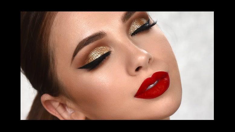 فیلم آموزش مدل آرایش چشم مجلسی + سایه چشم اکلیلی