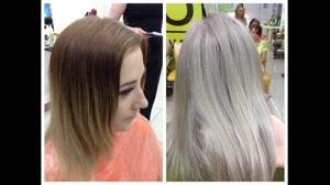 فیلم آموزش هایلایت کردن مو با فویل + رنگ مو بلوند