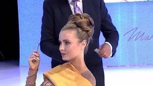 کلیپ  آموزش شینیون مجلسی  مو به روش آکادمیک