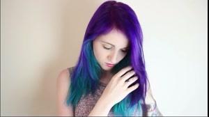 فیلم آموزش رنگ  کردن مو با رنگ مو پاستیلی