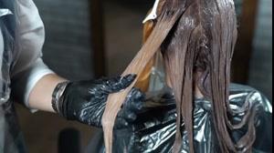 کلیپ هایلایت کردن مو با فویل + هایلایت مو تیره