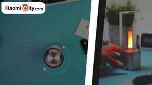 جعبه گشایی چراغ خواب هوشمند Candela شیائومی مدل YLFW۰۱YL