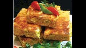 طرز تهیه کوکو مرغ مخلوط