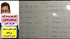 آموزش ۵۰۴ لغت پر کاربرد اسپانیایی -آموزش مکالمه اسپانیایی