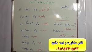 آموزش ۱۰۰% تضمینی مکالمه اسپانیایی-استاد علی کیانپور