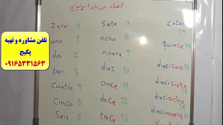 کاملترین پکیج آموزشی زبان اسپانیایی آموزش مکالمه لغات