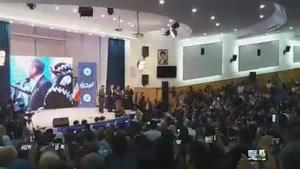 سخنرانی مظهر خالقی در کنگره مشاهیر کُرد