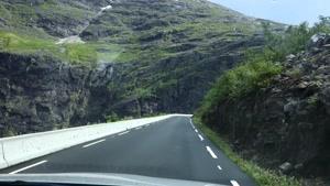 رانندگی در جاده های نروژ