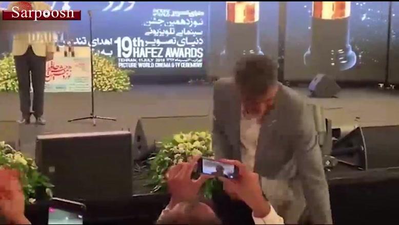 جایزه بهترین چهره تلویزیونی به عادل فردوسی پور