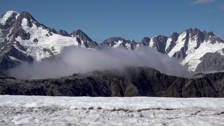 یخچال های طبیعی در نیوزیلند