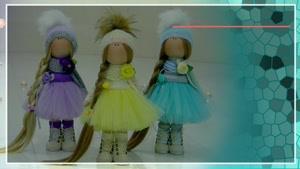 دوره آموزش ساخت عروسک های روسی