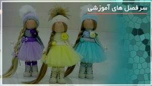 نقاشی صورت عروسک های روسی