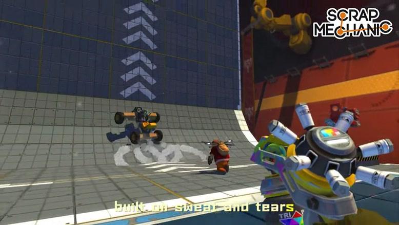بازی Scrap Mechanic قسمت 2