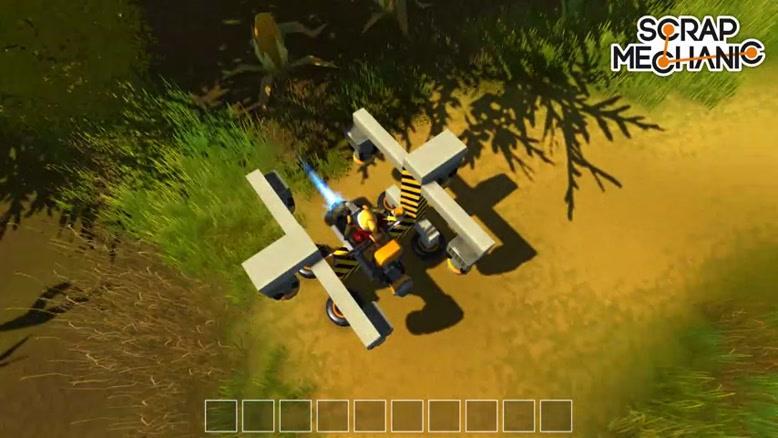 بازی Scrap Mechanic قسمت 4