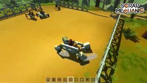 بازی Scrap Mechanic قسمت 5