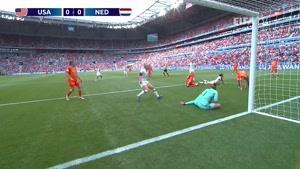 خلاصه فینال فوتبال جام جهانی زنان (آمریکا - هلند)