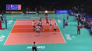 خلاصه بازی والیبال آمریکا - روسیه