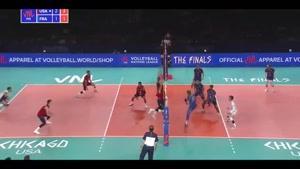 خلاصه والیبال آمریکا - فرانسه