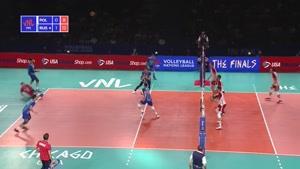 خلاصه بازی والیبال لهستان - روسیه