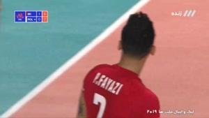 ست دوم  والیبال ایران - لهستان