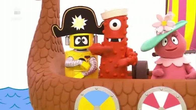 انیمیشن YO Gabba Gabba قسمت سی و پنج
