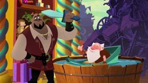 انیمیشن گیسو کمند دوبله فارسی  فصل 2 قسمت هجده