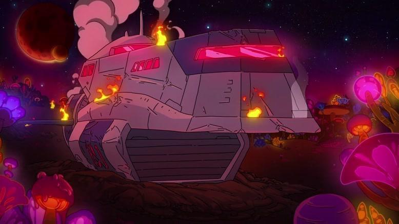 انیمیشن فضای نهایی  فصل 1 قسمت پنج