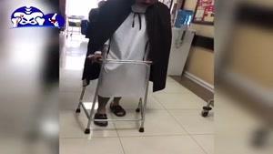راه رفتن بیمار بعد از جراحی تعویض مفصل لگن
