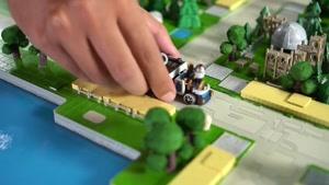 بازی جذاب و استراتژیک جنگ کاروان ها Caravan War