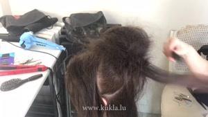 آموزش مدل موبرای مو های  بلند