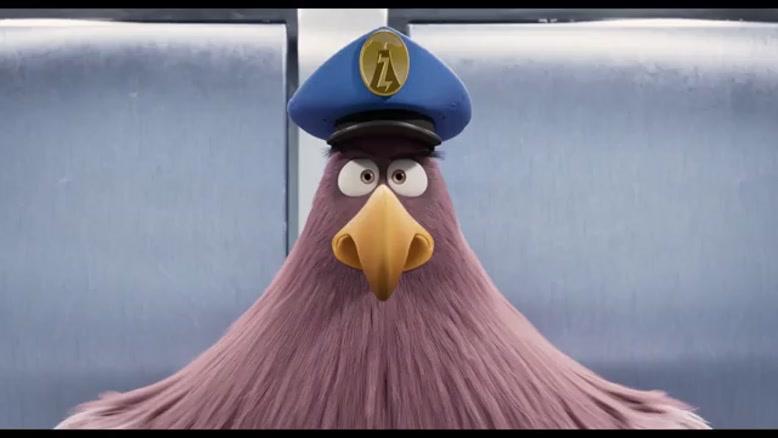 نماشا - سکانسی از انیمیشن The Angry Birds Movie ۲