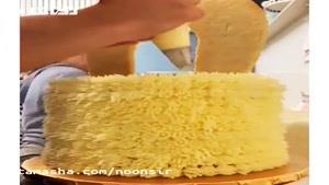 کانال تماشا - تزئین کیک تولد - آموزش آشپزی
