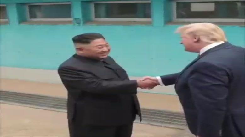 صدا گذاری خفن  ترامپ و کیم جونگ اون