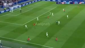 ببینید چه فوتبالی بازی میکنن زنان در جام جهانی