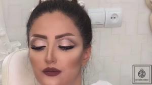 آرایش عروس قبل و بعد آرایش بدون فیلتر