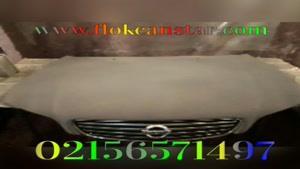 اموزش  مخمل پاشی روی  ماشین 02156571497