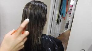 کلیپ بالیاژ سوزنی مو با فویل + آموزش رنگ مو جدید