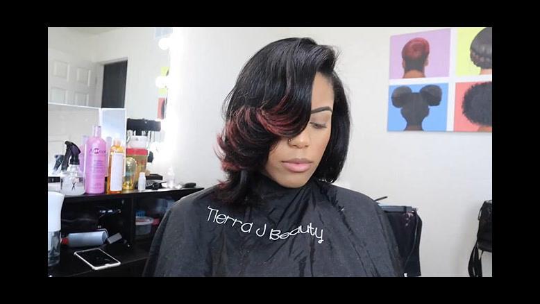 کلیپ کوتاه کردن مو خشک و مجعد + کراتینه کردن مو