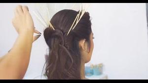فیلم آموزش شینیون مو با چوب چینی + شینیون مو چاپستیک