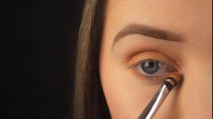 فیلم آرایش دودی چشم  + سایه چشم ترکیبی