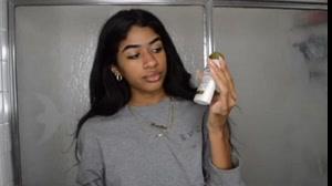 فیلم فر کردن مو زیبا در خانه با استفاده از لوسیون مو فر