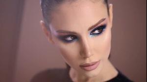 آموزش آرایش چشم اسموکی  + سایه چشم اکلیلی