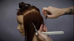فیلم جدیدترین روش آموزش کوتاه کردن مو  مدل فشن